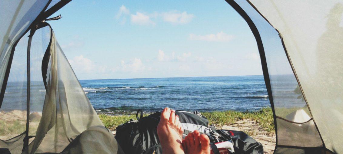 Come montare una tenda in campeggio